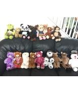 Lot of 16 BABW Build A Bear Dog Cat Frosty Shrek Plush Stuffed Animals S... - $249.99