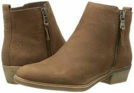 Polo Ralph Lauren Dark Snuff Women's Nubuck Ankle Boot, 9B, Nwot - $123.75