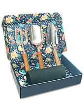 Sunphio Gardening Tools Set with Heavy Duty Garden Hand Trowel, Spade Sh... - $30.16