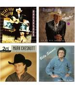 Lot of 4 CDs Ricky Van Shelton Mark Chesnutt Billy Simard - No Cases - $2.99