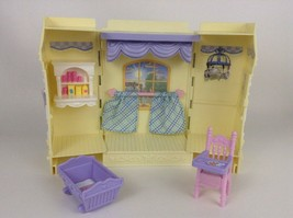 Fisher Price 2000s Loving Family Dollhouse Feeding Time Kitchen and Baby... - $26.68