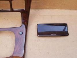 00-02 Mercedes C215 CL500 Shifter Radio Climate Control Trim Bezel Wood Wooden image 6