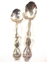 Interlude International Silver Plate Serving Sugar Shell & Pierced Bon B... - $19.01