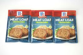 McCormick MEAT LOAF Seasoning Mix GLUTEN FREE 1.5 oz BB 09/22 Lot of 3 - $21.90