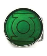 Green Lantern Emblem All Green Circle Belt Buckle *NEW* - $24.99