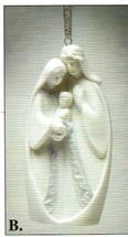 Holy Family Ornament - Illuminates - 61224