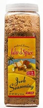 Island Spice Jerk Seasoning  Product of Jamaica - LARGE 32oz Restaurant Size Jar - $19.99
