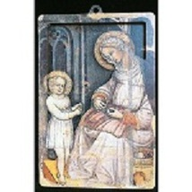 St. Anne - 3D Wood Lazar Cut Plaque