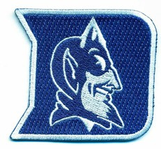 DUKE BLUE DEVILS  iron on embroidered PATCH COLLEGE UNIVERSITY OF 2.5 IN... - $10.95