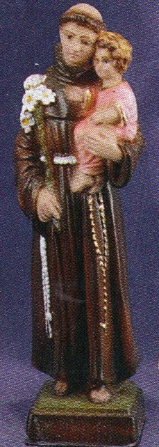 St. anthony 8 inch statue