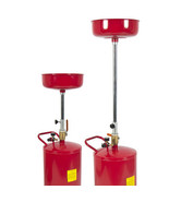 20 Gallon Portable Waste Oil Drain Tank Air Operated Drainer  - $78.99