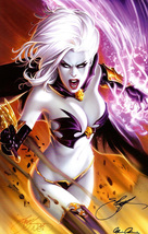 Goddess series Art oil painting printed on canvas home decor  LADY DEATH - $14.99+