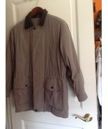 NWOT WEATHER REPORT Storm Jacket Olive Green SZ Medium - $38.71