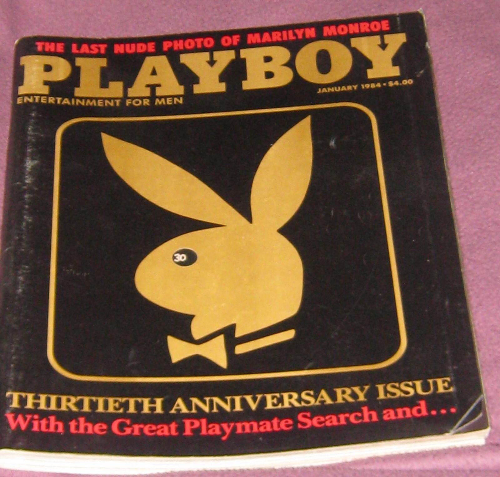 Playboy magazine january 1984 marilyn monroe 30th for Anniversary magazine