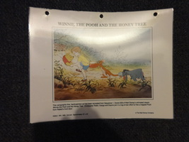Winnie the Pooh litho display sheets Disney Store/CastMEmber - $5.00