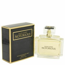 Perfume Notorious by Ralph Lauren 2.5 oz Eau De Parfum Spray for Women - $91.76