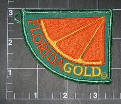 Florida Gold Souvenir Patch Orange Fruit - $7.99