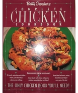 Betty Crocker Complete Chicken Cookbook Hardcover 0671892436 - $3.00