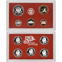 2006-S 90% Silver Proof Set United States Mint Original Government Packaging Box image 2