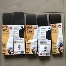 "X4 Shop Smith P120 3""x24"" Ceramic Sanding Belts Moderate Surface Prep. N... - $20.56"