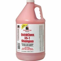 Quick Rinse Pet Shampoo Hypoallergenic Deodorizing Gallon Extra Concentr... - $69.19