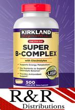 Kirkland Signature Energy Super B-Complex Vitamin B1 B2 B6 B12 500 Tablets - $25.73+