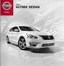 2013 Nissan ALTIMA SEDAN sales brochure catalog US 13 S SV SL - $7.00