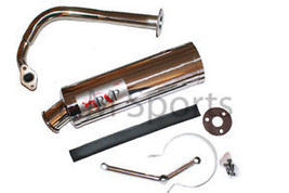 Gy6 Motorcycle Performance Steel Exhaust Muffler 50cc - $74.41