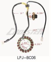 China Go Kart Buggie 18 Pole Stator Alternator 250cc COOLSTER 6250 6250DBL Parts - $49.45