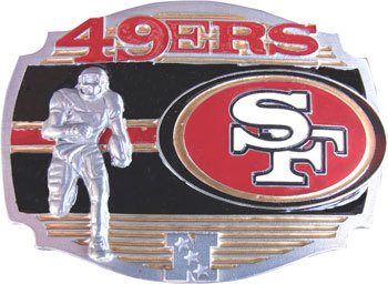 San Francisco 49ers Belt Buckle