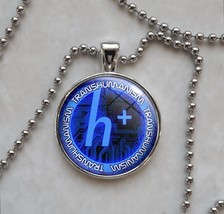 Choose Color Transhumanism Transhuman Posthuman Pendant Necklace - $14.00+