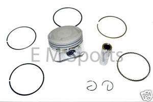 Gas Dirt Pit Bike 150cc Piston Kit 56.5mm Parts Lifan Engine Motor 1P56FMJ image 1