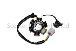 Gas Coolster Atv Quad Go Kart 6 Pole Stator Alternator Winding 110cc 125cc Parts - $34.55