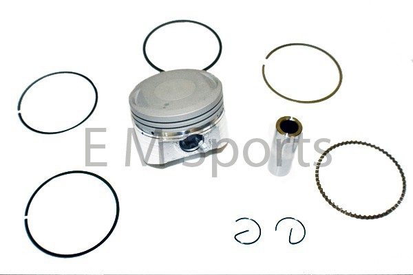 Gas Dirt Pit Bike 150cc Piston Kit 56.5mm Parts Lifan Engine Motor 1P56FMJ image 5
