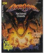 Lot of Six Vintage Dragon Magazines - $29.95