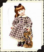 """Boyds Yesterdays Child """"Taylor w/Jumper.. PlayTime""""-  #4926 -16"""" Tall Doll- LE - $49.99"""