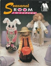 Plastic Canvas Pattern Booklet-SEASONAL ROOM SWEETIES-Fits Cone Size Air... - $4.95