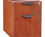 Alera Valencia Series 3/4 Box/File Pedestal, 15-5/8 x 21-1/2 x 19-1/4,Med Cherry
