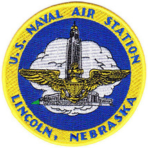 US Naval Air Station Lincoln, Nebraska Patch NEW!!! - $11.87