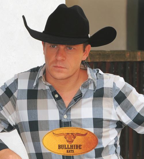 Bullhide Broken Horn 4X Wool Cowboy Hat Truman Crown Filigreed Buckle Set  Black 6e071f6eed8d