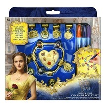 Disney Beauty And The Beast Design & Style Charm Bracelet Set NIB image 1