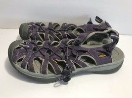Used/worn Keen Womens Sz 11 Purple Sports Sandals - $39.59