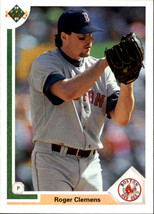 1991 Upper Deck Baseball Base Singles (Pick Your Cards #655 Roger Clemens  - $2.49