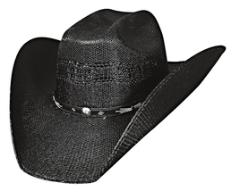 Bullhide Stockyard 20X Bangora Straw Cowboy Cowgirl Hat Maverick Crown B... - $62.00