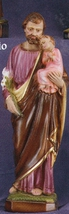 St. Joseph and Child - 12 inch Statue