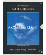 Blair Art Studios Art of Technology 1995 Gift Catalog Collection - $14.75