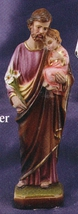 St. Joseph and Child - 8 inch Statue