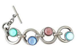 1980s Ben Amun Cabochon Runway Couture Bracelet - €127,08 EUR