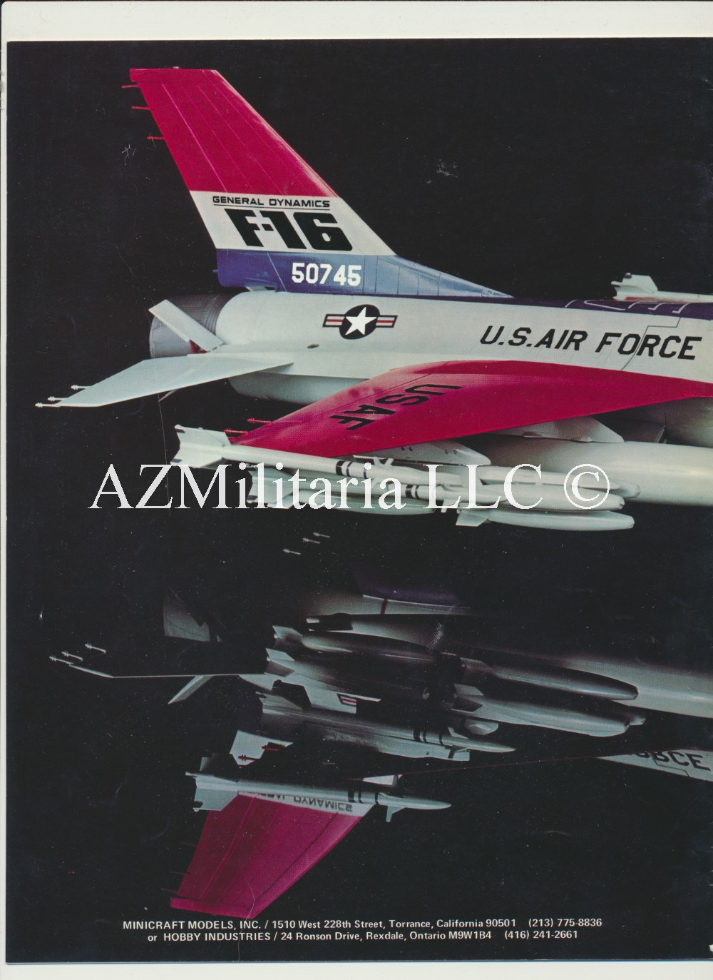 1980 Minicraft Hasegawa Catalog