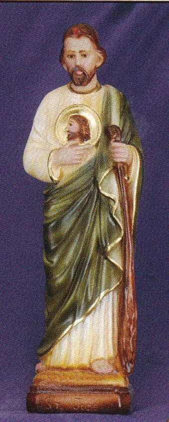 St. jude   12 inch statue